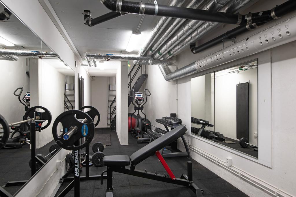 Föreningens egna gym