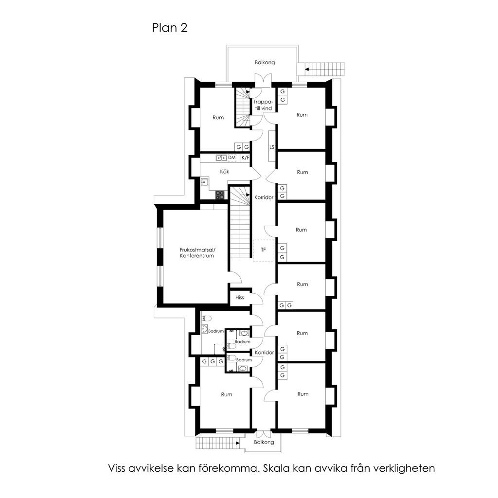 Planlösning - Plan 2