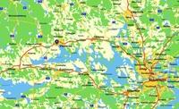 Karta regionalt