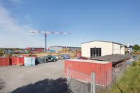 Industribyggnad med stor byggrätt
