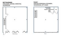 Planritning lokalen