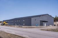 Nybyggda industrilokaler vid Arlanda