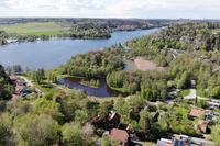 Överblicksbild mot Tullingesjön