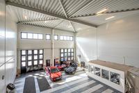 Bilhallen med försäljningskontor
