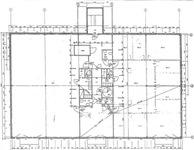 Originalplanritning Övre plan