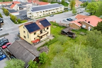 Solceller finns installerade på taket