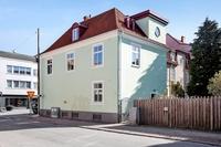 Lilla gröna huset på Limhamn