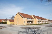 Bestånd i Sjöbo med 31 lägenheter och 3 villor