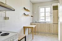 Gemensamt kök för 2 lägenheter på 2 vån.