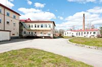 Köksbyggnad och gamla värmecentralen