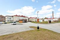 Infart och busshållsplats