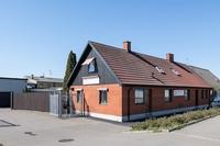 Kombinerad bostads/lokal fastighet