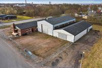 Höganäs lager/industrilokal vid outletområdet