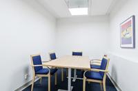Gemensam konferenslokal i bottenplan